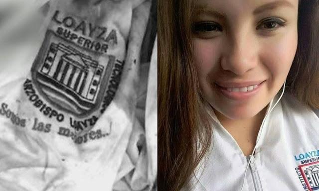 Chaqueta de instituto fue clave para identificar el cadáver de Marisol Estela Alva