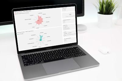 KnowledgeSmart Radial Chart - Skill Gap Analysis