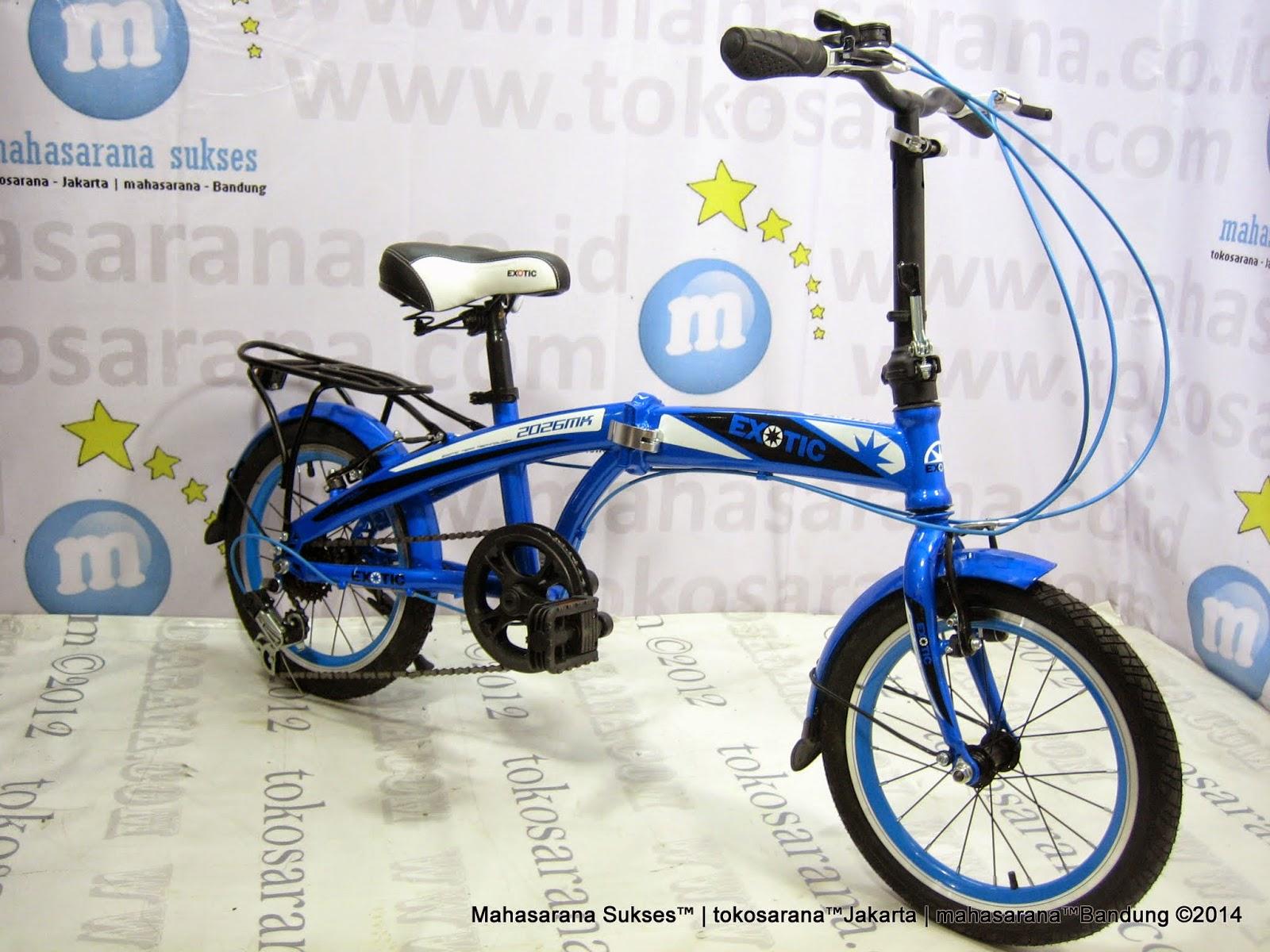tokosarana™ | Mahasarana Sukses™: Sepeda Lipat Exotic