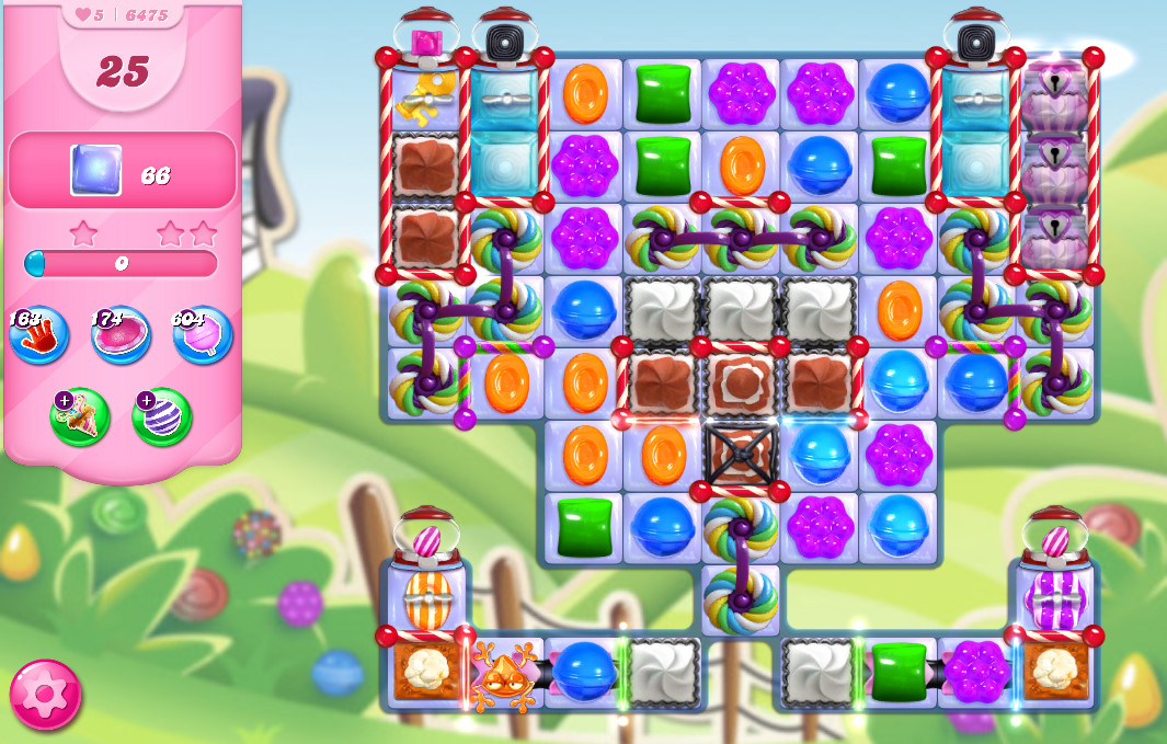 Candy Crush Saga level 6475