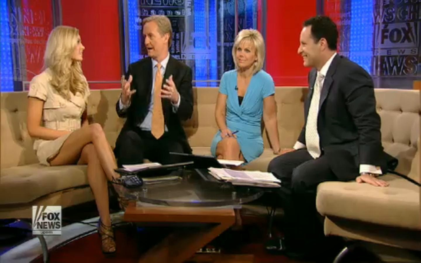 The scat from fox news commentary on fox news anchors the plastic