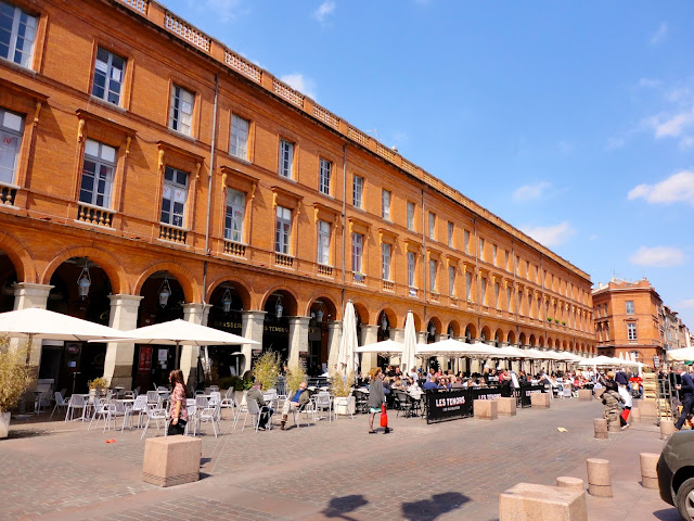 Town square, Toulouse, France