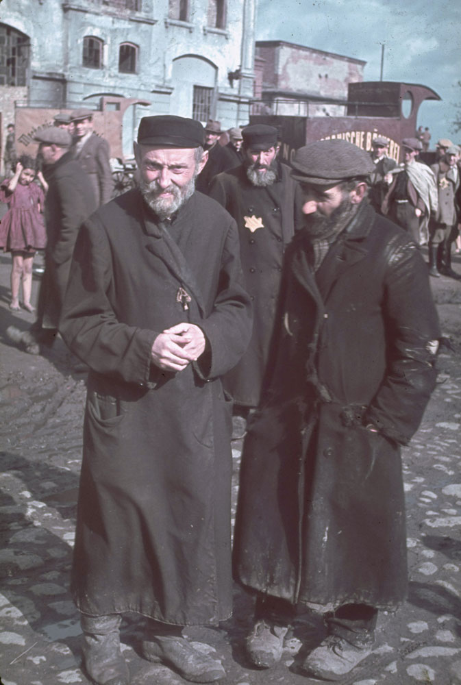 Jewish Ghetto Life: 21 Color Photos Made by Hitlers