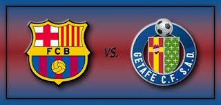 موعد وتوقيت مباراة برشلونة وخيتافي 6-1-2019 ضمن الدوري الاسباني والقنوات الناقلة