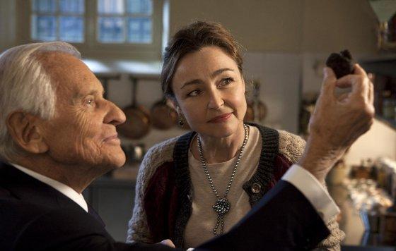 «Повар для президента – Les Saveurs du Palais». Повар и Президент: Катрин Фро и Жан д'Ормесон