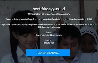 Panduan Pendaftaran Sumber Belajar di Sertifikasiguru.id