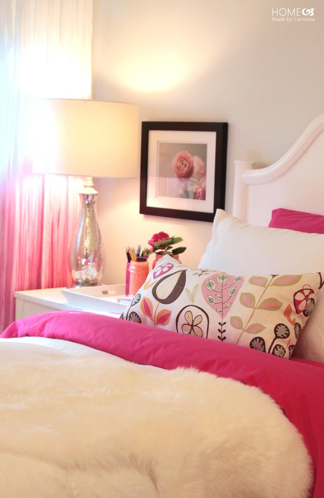 Princess Pink Bedroom Reveal