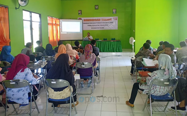 PPK Ngawi Bekali Calon Petugas Pemilu 2019