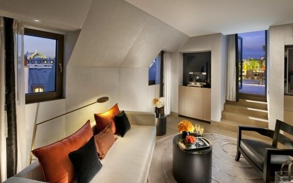 Foto sala moderna elegante
