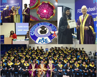 """Engage more, build trustworthy relations"" ~ Ajay Shriram to pass outs at FORE School Convocation."