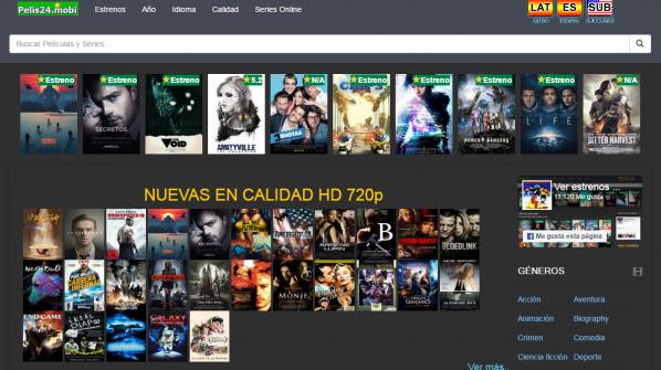 paginas para ver peliculas gratis en español