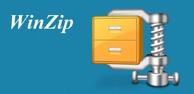 برنامج WinZip  لفك جميع انواع الملفات المضغوطة