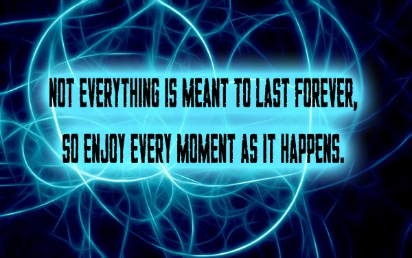 Not Everything Is Meant To Last Forever Quote Express