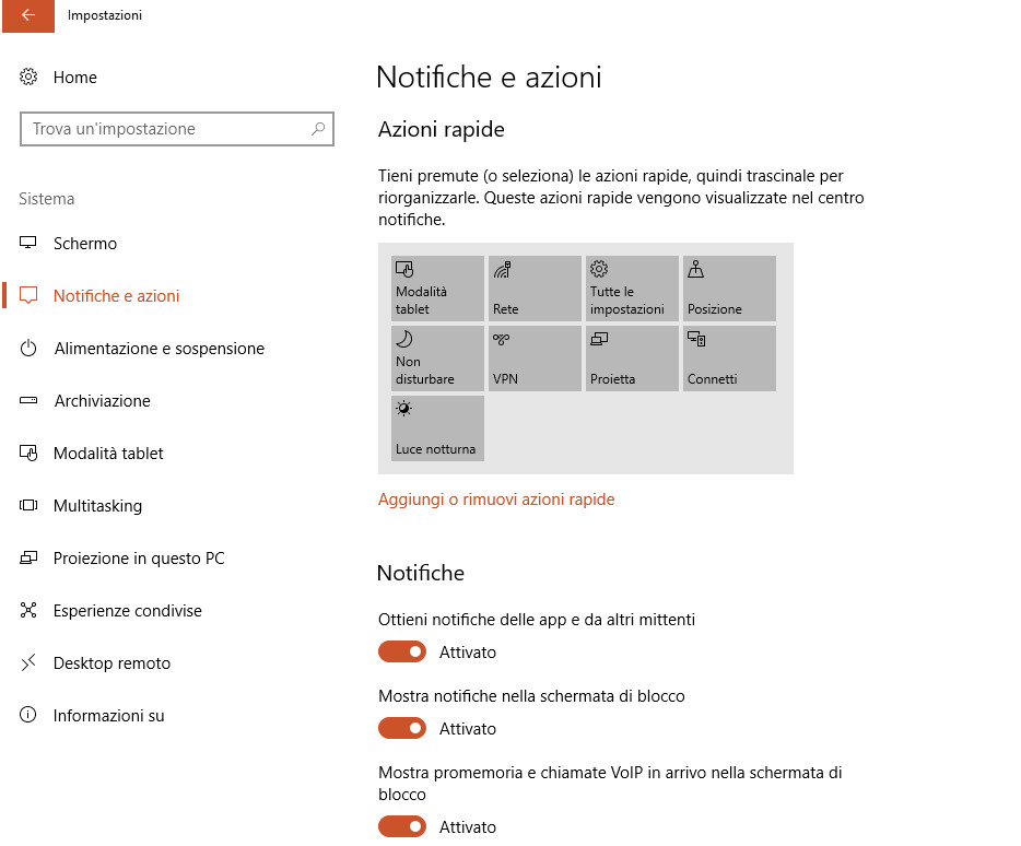 Come gestire le notifiche in Windows