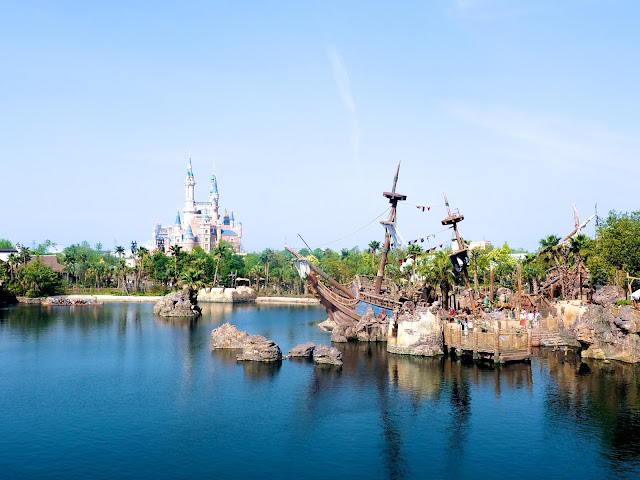 Enchanted Storybook Castle and Treasure Cove, Shanghai Disneyland, China