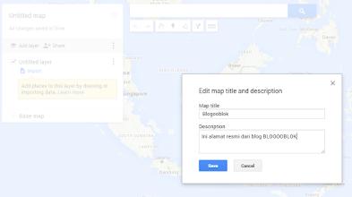 Cara Mudah Membuat Google Maps Sendiri