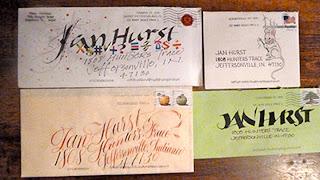 Image result for decorated envelopes
