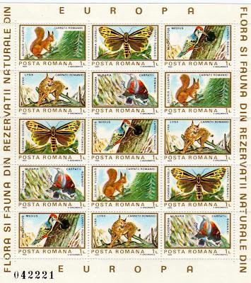 Timbre. Colita insecte, animale, pasari