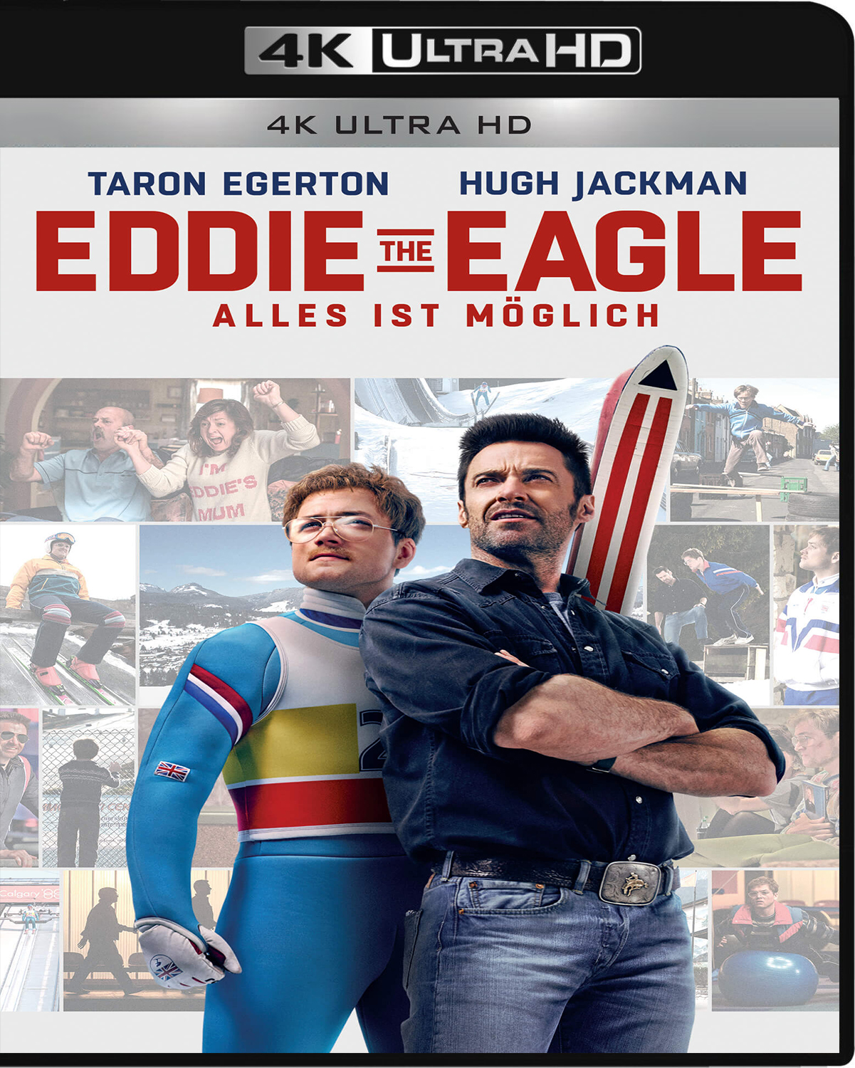 Eddie the Eagle [2016] [UHD] [2160p] [Latino – Castellano]