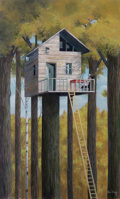 """Tree House"" by Alan Parry - 2018 
