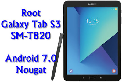 Root Galaxy Tab S3 SM-T820