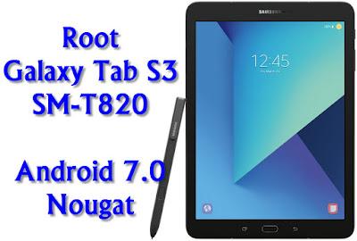 Root Galaxy Tab S3 SM-T820