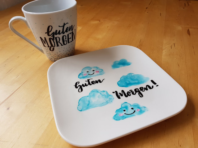 Vielleicht Habt Ihr Ja Auch Lust Bekommen Ferienzeit An Regentagen Mit Kreativen Ideen Zu Füllen Und Kann Euch Das Bemalen Gestalten Von Porzellan