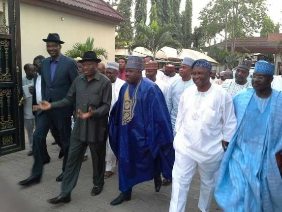 Ali Modu Sheriff, Goodluck Jonathan, News, PDP Chairman