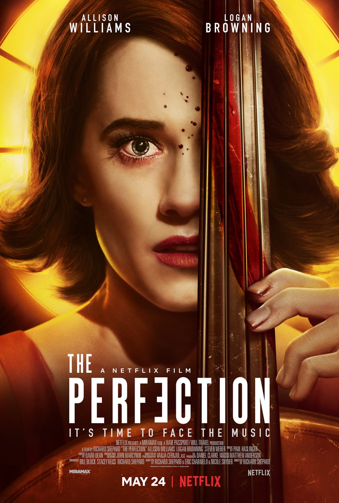 Netflix S The Perfection Trailer Poster Sandwichjohnfilms