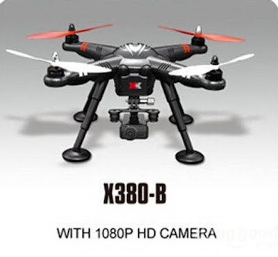 Spesifikasi Drone XK Detect X380 - GudangDrone