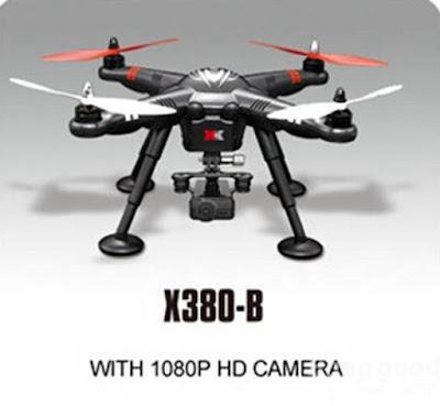 Spesifikasi Drone XK Detect X380 - OmahDrones