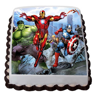 Courageous Avengers Cake