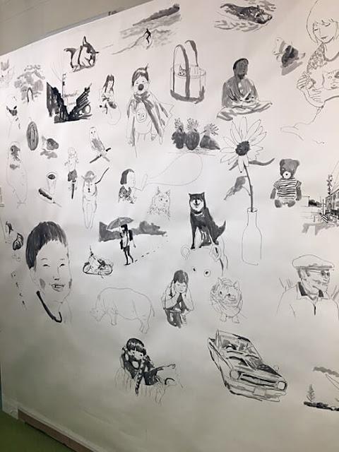 松本大洋さんの原画展