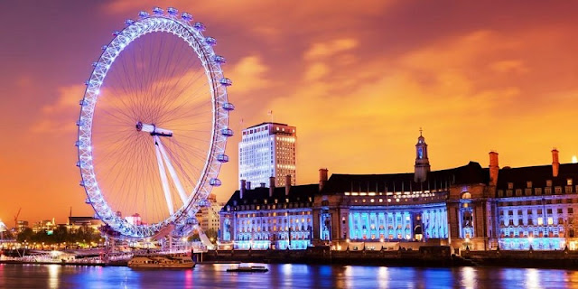 Roda Gigante London Eye em Londres
