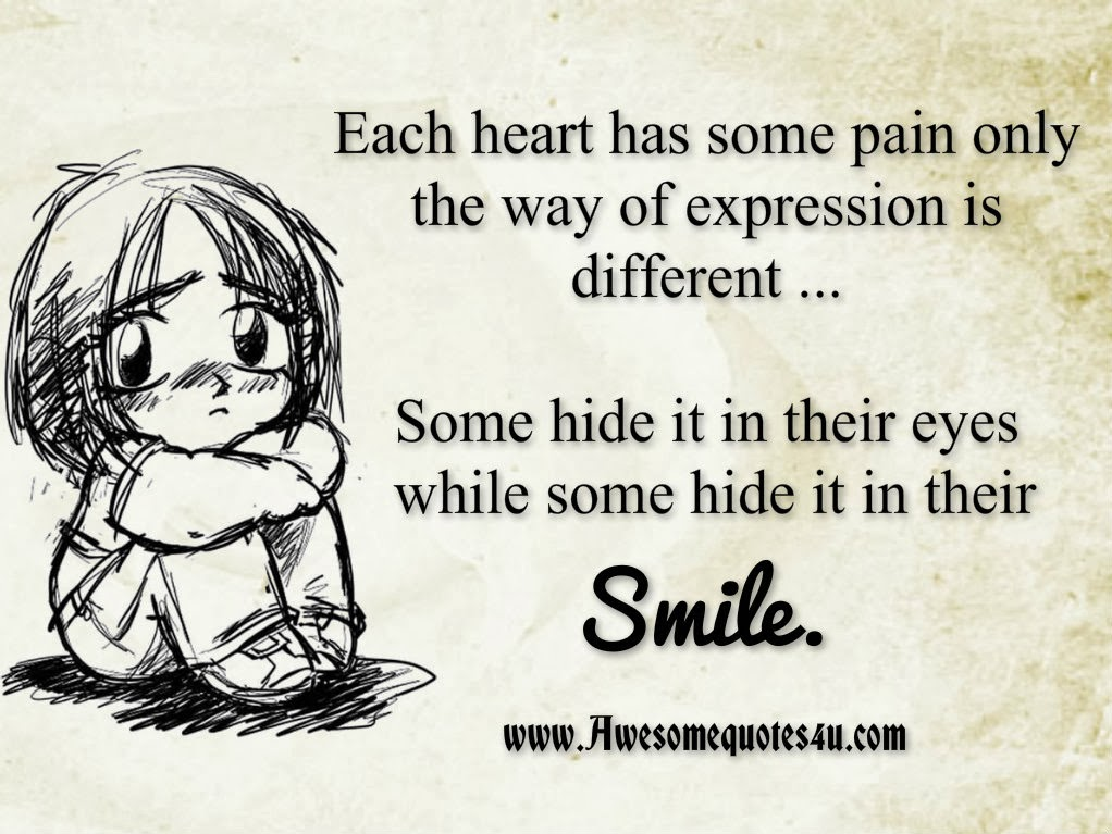 Hide The Pain Behind The Smile Quotes Pain Behind Smile Quotes