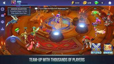 Dungeon Hunter Champions: Epic Online Action RPG MOD APK 1.0.15 for Android Terbaru 2018 - JemberSantri