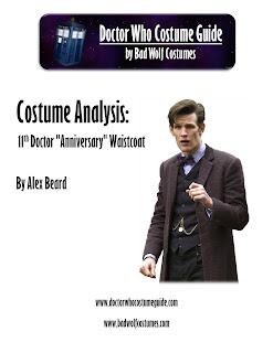 """11th Doctor """"anniversary"""" waistcoat analysis"""