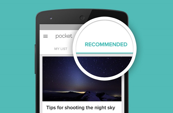 Pocket 6.0 update brings Recommendations to the Web and Android, iOS apps