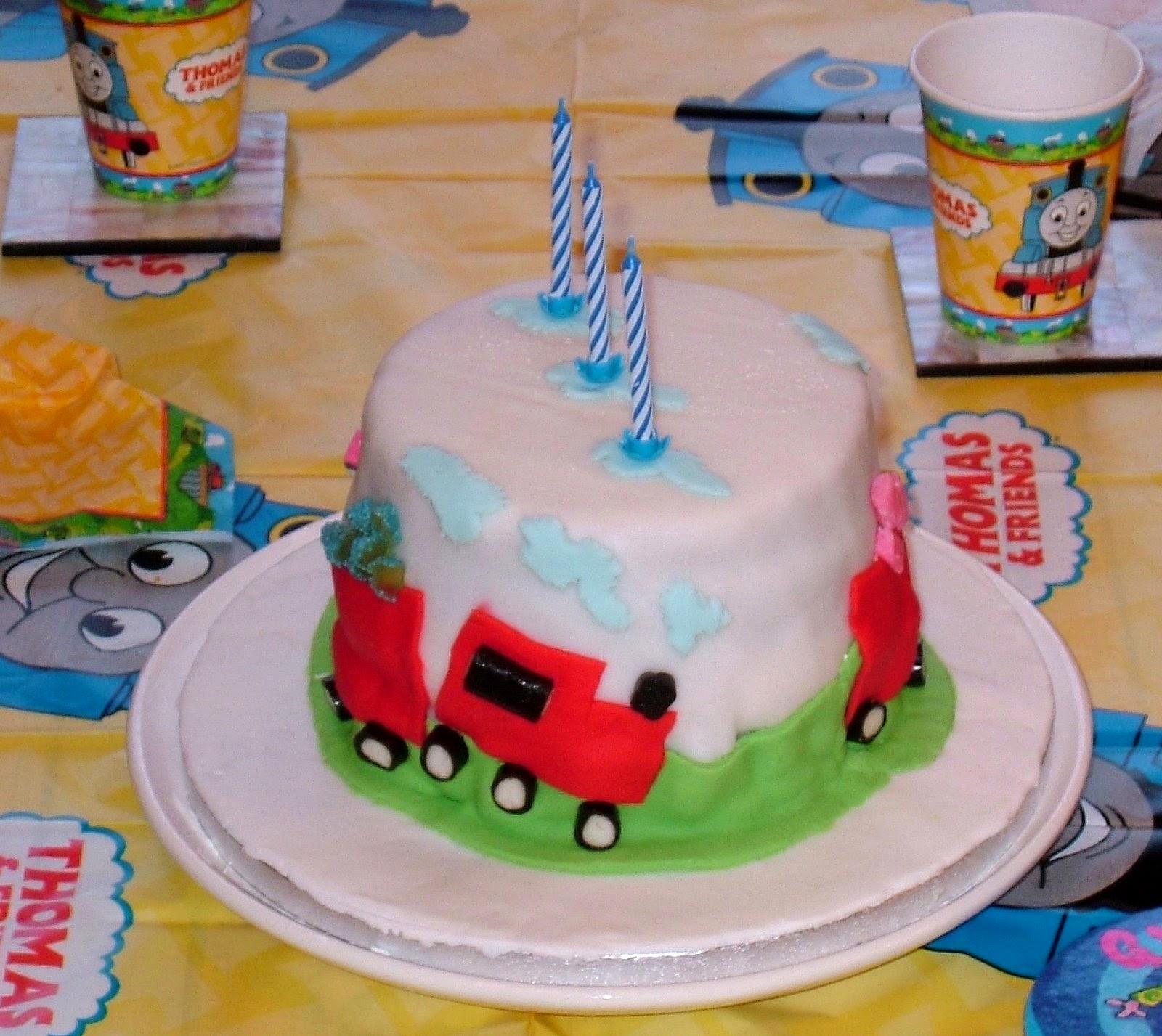 Kids Train Birthday Cake Ideas And Designs