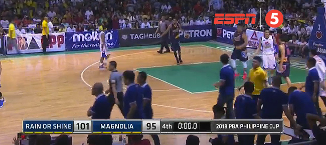 Rain or Shine def. Magnolia, 101-95 (REPLAY VIDEO) February 10