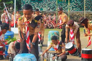 SMK Sakti ; Putra Sakti Peringati Hari Baden Powell 2017