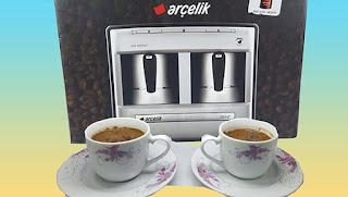 arçelik 3190 telve türk kahve makinesi kutu açılışı - KahveKafeNet