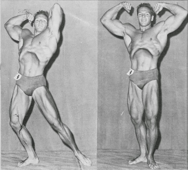 STRENGTH FIGHTER™: Mr  Universe 1959 Bruce Randall amazing body
