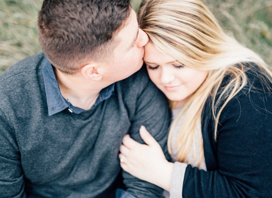 Fall Engagement Photography by Something Minted Photography