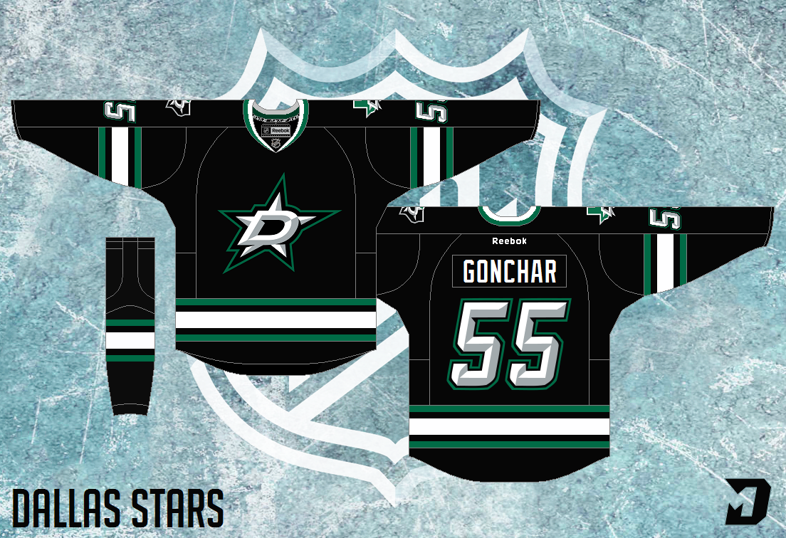detailed look aec9e d8445 Dallas Stars Third Jersey: Saturday: THE HAWKS WIN THE ...