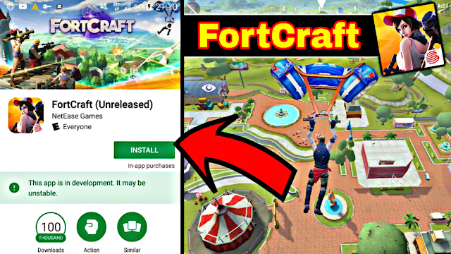 How To Download Fortcraft Mobile Fortnite?? (Android/IOS)