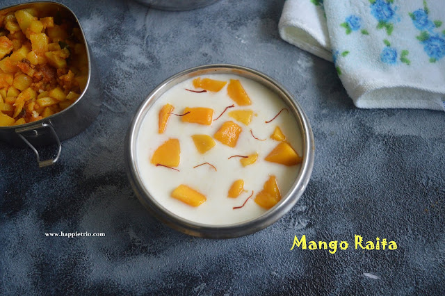 Mango Raita Recipe | Aam ka raita recipe