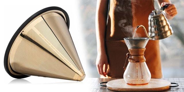 barista warrior gold kahve filtresi ile filtre kahve yapımı, www.kahvekafe.net