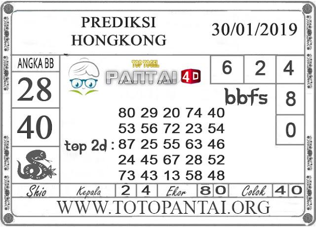 """Prediksi Togel """"HONGKONG"""" PANTAI4D 19 JANUARI 2019"""