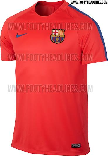 328d30f52d068 Así será la camiseta de entrenamiento del FC Barcelona 16-17